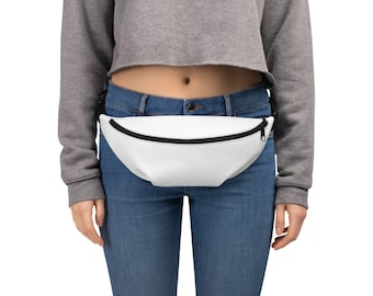 Ellington Leather Beige Fanny Pack Adjustable Strap 4 Pockets Vintage Unisex Waist Bag Pouch