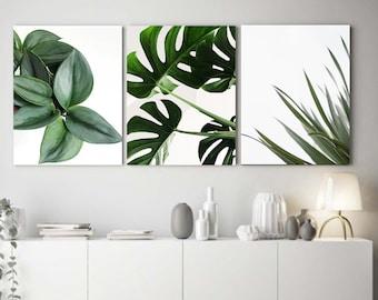 Minimalist Leaf Collections Salon wall decoration