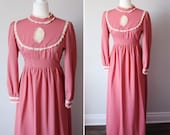 Victorian style handmade dress