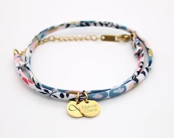 Cordon Wiltshire Porcelain Personalized Liberty Bracelet, Women's Bracelet, Mom Gift, Mother's Bracelet, Mother's Day Gift