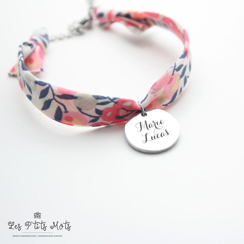 Personalised Bracelet Liberty Peas of Senteur Woman's image 0