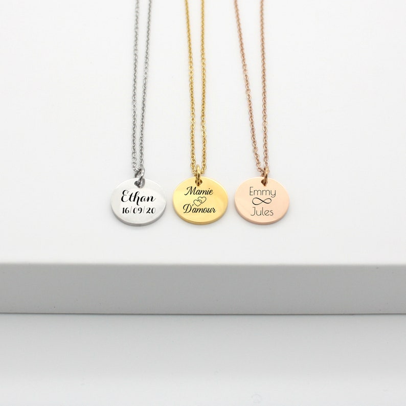 Personalized necklace First name necklace Woman's Jewel image 0