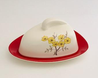 CarltonWare Cheese Dish 1950s Modern Style