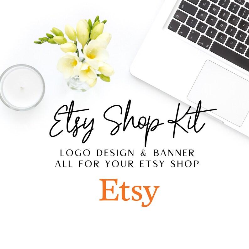 Etsy Shop Kit Etsy shop brand Etsy banner Etsy brand shop image 0
