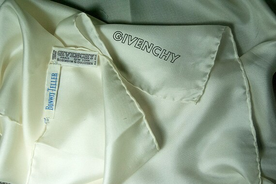 1960s Givenchy Silk Scarf