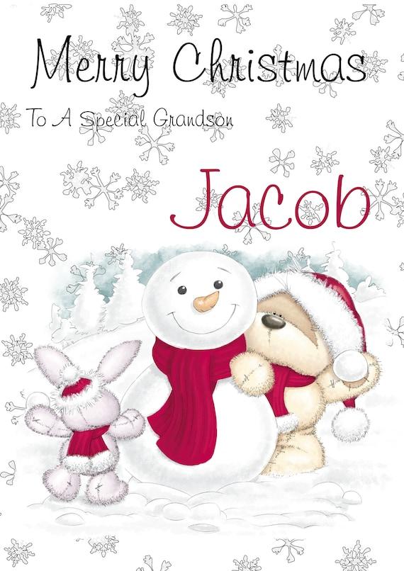 Godson Christmas Card ~ To A Very Special Godson ~ Choice Of Card