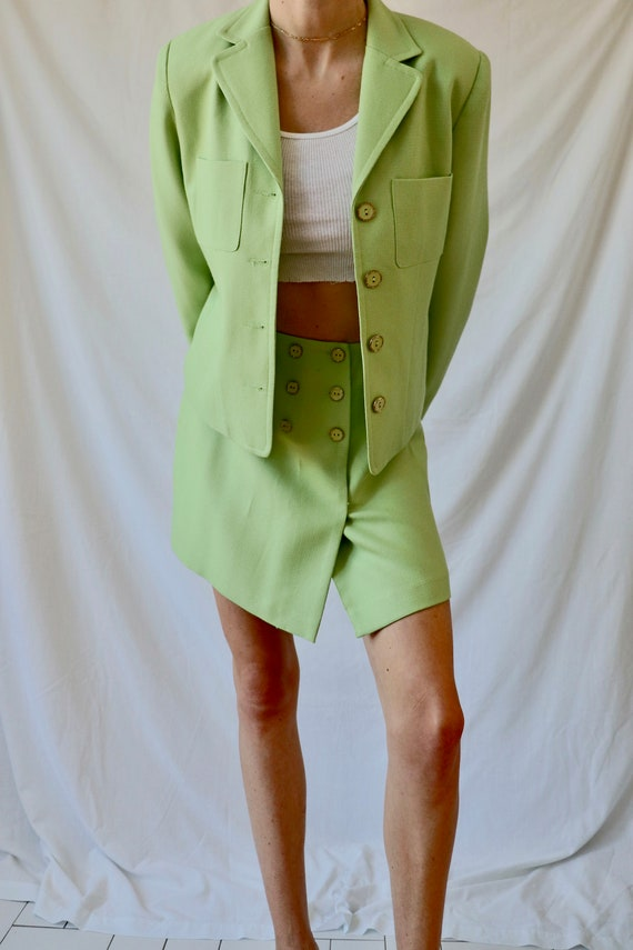 Vintage Green Suit Set - image 6