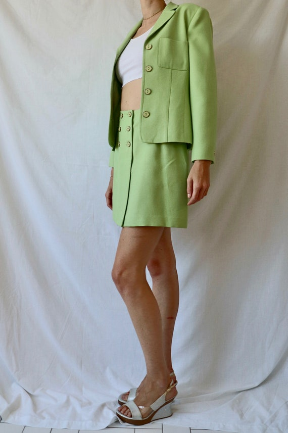 Vintage Green Suit Set - image 4