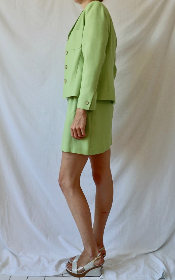 Vintage Green Suit Set - image 3