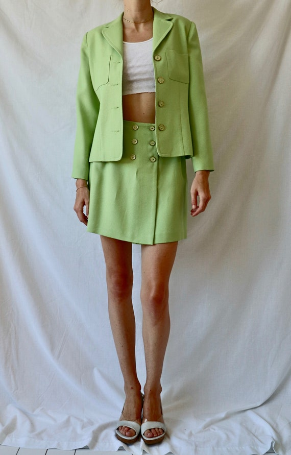 Vintage Green Suit Set - image 2