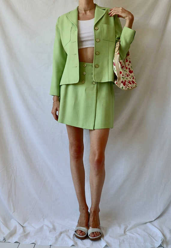 Vintage Green Suit Set - image 1