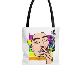 WAKE BAKE & CREATE Tote Bag (color)