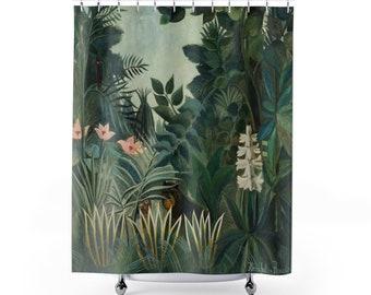 The Equatorial Jungle Shower Curtain | Henri Rousseau