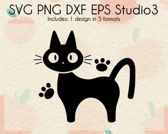 Kiki inspired SVG Cut Files | Cat Mug Inspired Design | Cartoon SVG | Digital Download | svg dxf png eps studio3