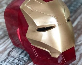 Iron man helmet | Etsy