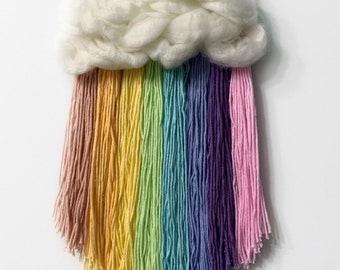 Rainbow Wall Hanging /Weaving