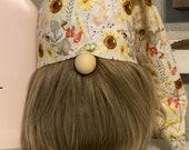 Sunflower gnome hat farmhouse gnome HAT sunflower farmhouse decor