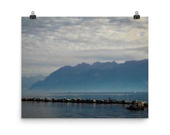 Switzerland Landscape Photo Print