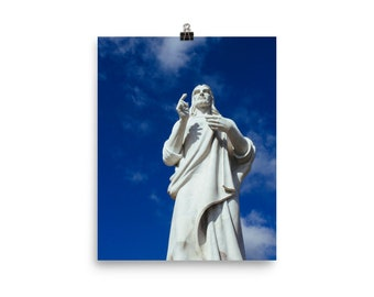 Christ of Havana, Cuba Print