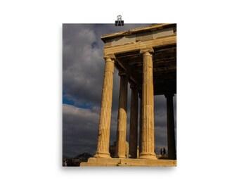 Greek Parthenon Temple Photo Print