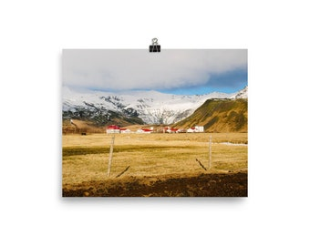 Iceland Landscape Photo Print
