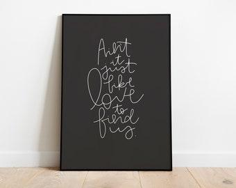 ART PRINT Words Of Hope Rodney White 18x24
