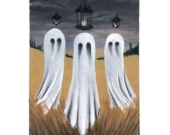 "Harvest Ghosts ""Stubble Burn"" Print"