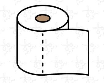 Toilet Paper Svg Etsy