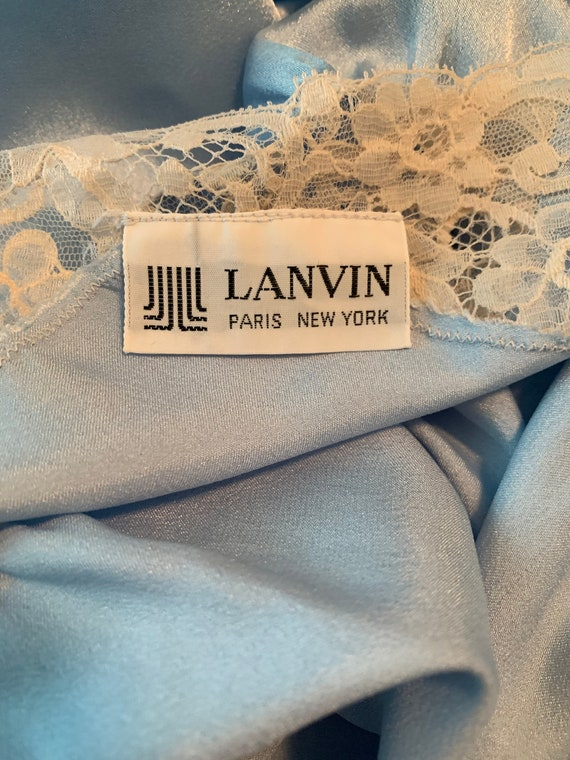 1970s Lanvin Nightgown - image 6