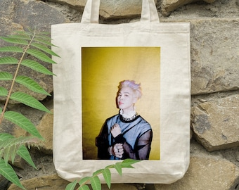 BTS Jimin Tote Bag Butter - Write your name - %100 Cotton