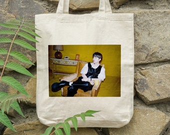 BTS Suga Tote Bag Butter - Write your name - %100 Cotton