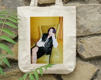 BTS Jungkook Tote Bag Butter - Write your name - %100 Cotton