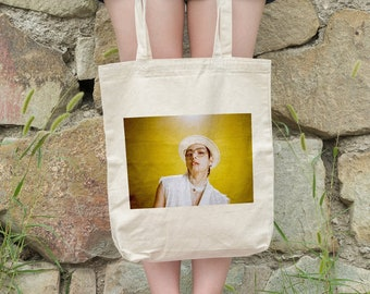 BTS V Tote Bag Butter - Write your name - %100 Cotton
