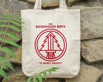 The Bookhouse Boys Tote Bag - Write your name - %100 Cotton