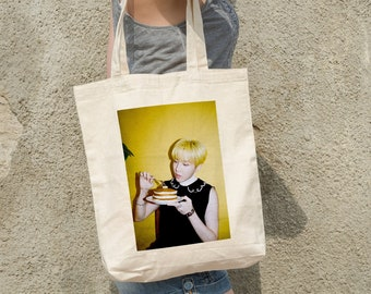 BTS J-Hope Tote Bag Butter - Write your name - %100 Cotton