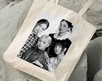 BLACKPINK Canvas Bag - Write your name - %100 Cotton