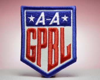 AAGPBL - Rockford Peaches A League of Their Own Embroidery Patches - Iron On, Sew On