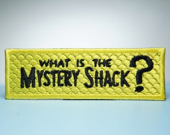 Mystery Shack Embroidery Patch - Iron On, Sew On