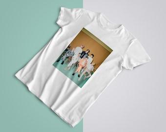 BTS T-Shirt Oversize - BTS Group Shirt  BTS Tee Love, OT7 Army