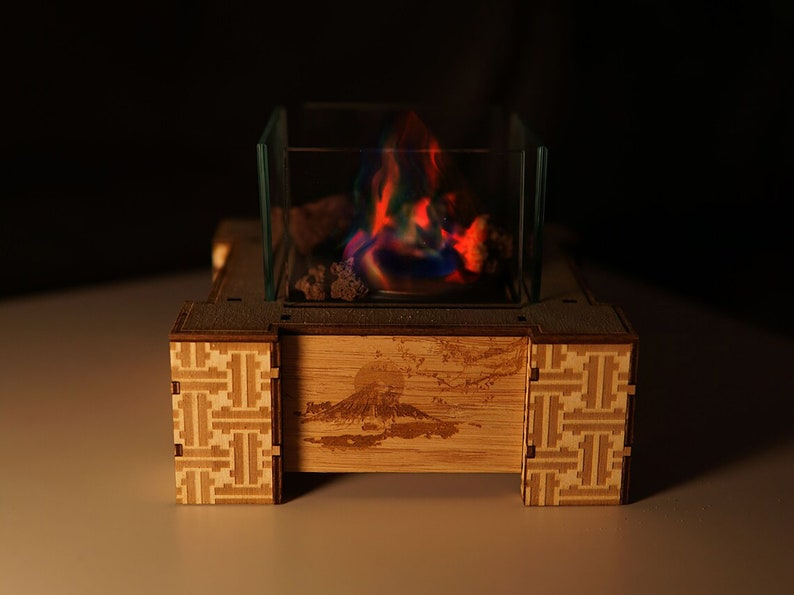 Fire Place Tabletop Project X Crowdfunding like image 1