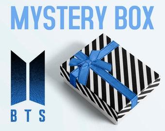 BTS MYSTERY Box - Mystery bag, Gift box, Surprise Merch, Bias Pack, K-pop
