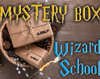 Wizard School Mystery Box, Spells pack, Surprise box, Potterhead, Gift for her and him