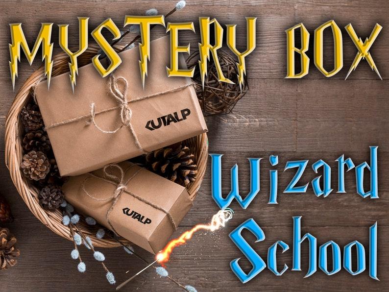 Wizard School Mystery Box Spells pack Surprise box image 1