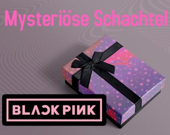 BLACKPINK Mysteriöse Schachtel - Kpop Collectibles, Mystery Merch, Geschenkbox, Überraschungspaket