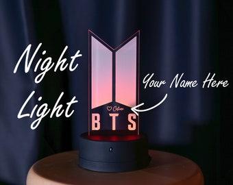 BTS Night Light, Night Lamp, Desk Light