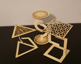 Tensegrity Structure DIY, Anti Gravity Desk Toy, Impossible Structure, Levitation, Physics Decoration