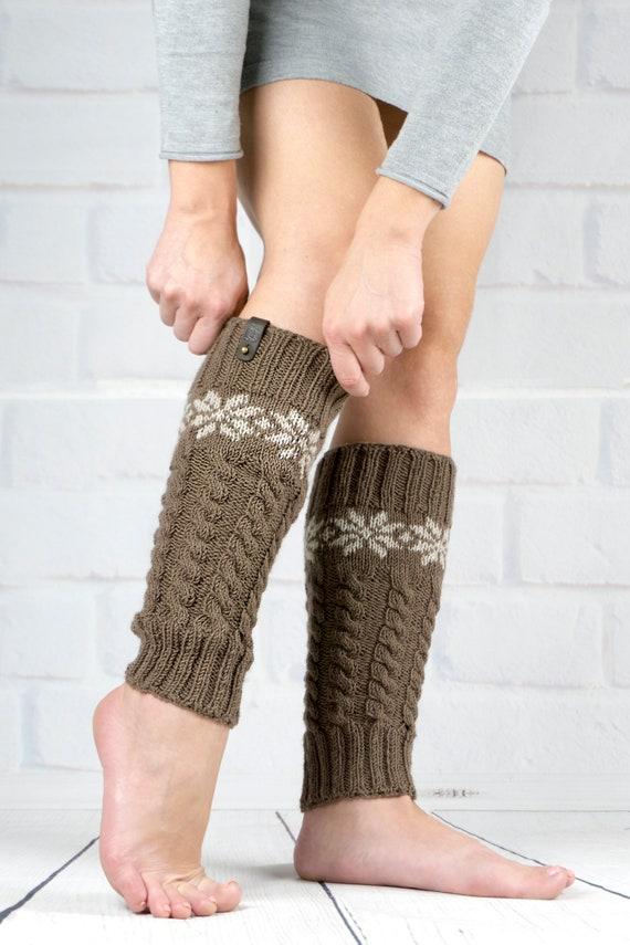 Brown leg warmers beige pink orange purple,Dance leg warmers,Boot cuffs,Yoga socks,Zephyr Graham,Handmade Australia,Mother day gift
