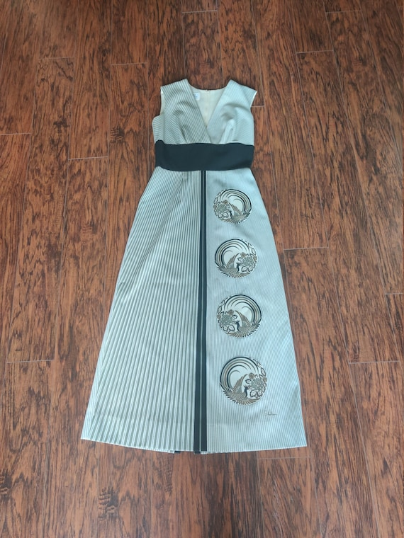 Alfred Shaheen Classic Vintage 1960's/70's Dress