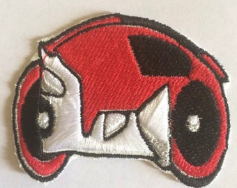 """ENCOM 4.5/"""" Logo Sew Ironed On Badge Embroidery Applique Patch"""