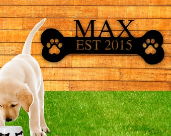 MY DOG/'S RULES RETRO STYLE METAL TIN SIGN//PLAQUE GERMAN SHEPHERD THEME